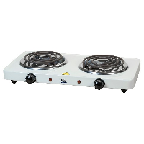 Elite Cuisine Electric Double Coil Burner Hot Plate - image 1 of 2