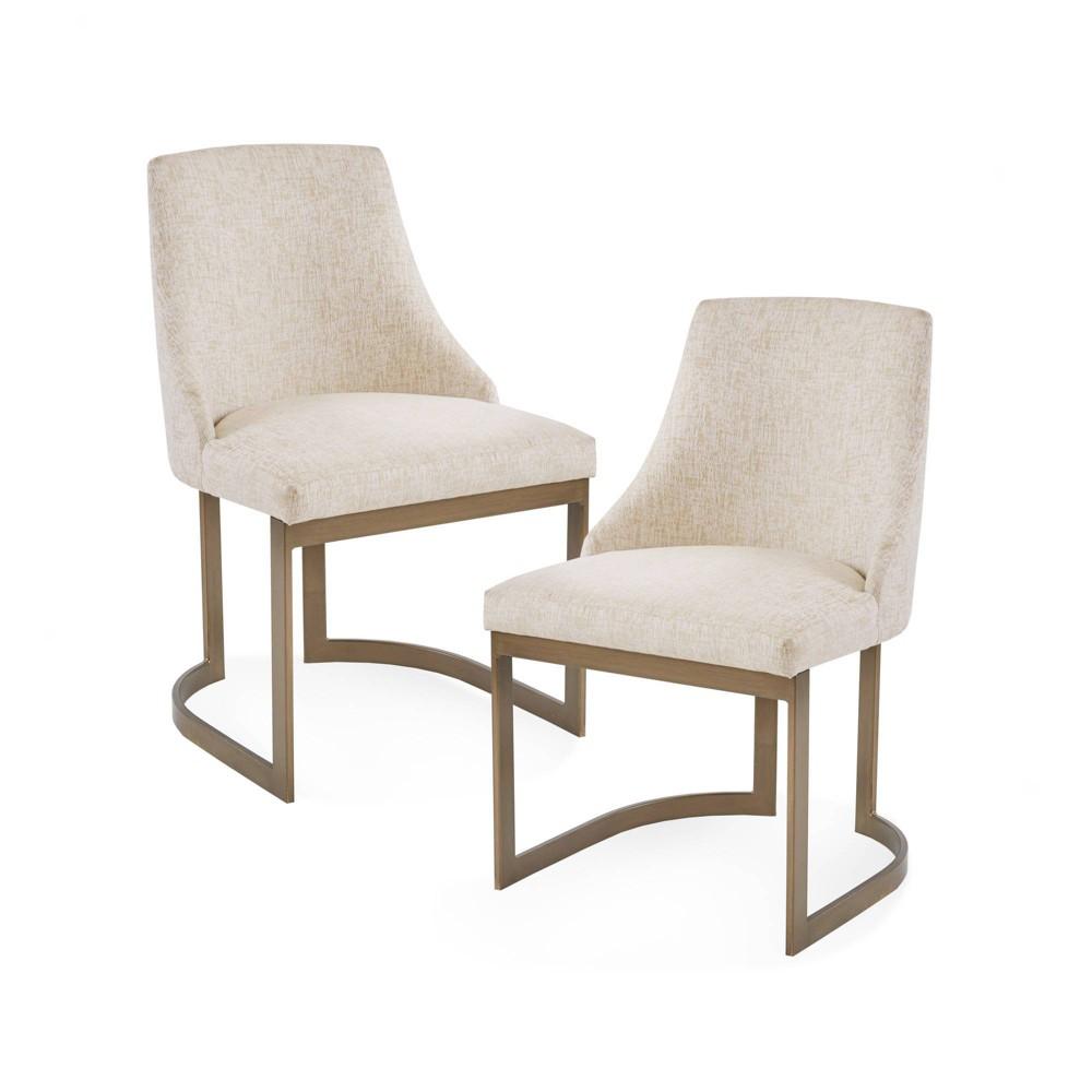 Set of 2 Thornton Dining Chair Cream