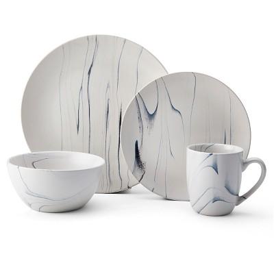 Pfaltzgraff Expressions® Savannah Stoneware 16pc Dinnerware Set Gray