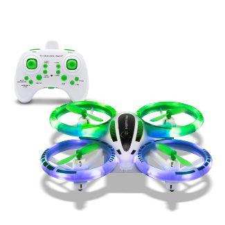 Sharper Image - Glow Up Mini Stunt Drone