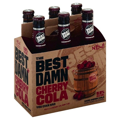 Best Damn® Hard Cherry Cola - 6pk / 12oz Bottles - image 1 of 1