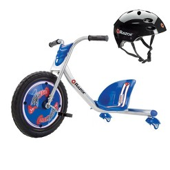 Razor Rip Rider 360 Drifting Ride-On Kids/Children Tricycle & Youth Sport Helmet