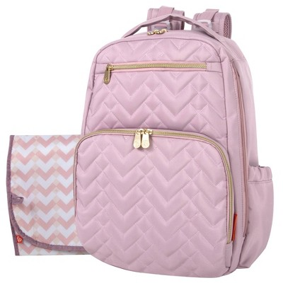 Fisher Price Morgan Quilted Backpack - Pink