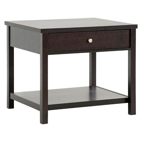 Nashua Modern Accent Table and Nightstand Brown - Baxton Studio - image 1 of 3