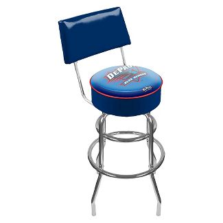 DePaul Blue Demons Padded Swivel Bar Stool w/Back