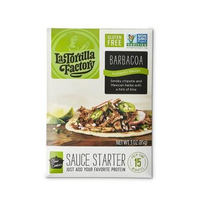 La Tortilla Factory Barbacoa Sauce Starter - 3oz