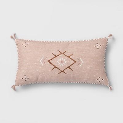 Oversized Lumbar Global Pillow Blush - Opalhouse™