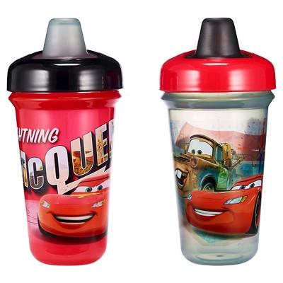 Disney Stackable Soft Spout Cup Cars 2pk