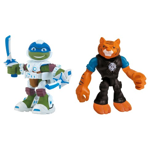 Teenage Mutant Ninja Turtles Half Shell Heroes Karai and Dragon Foot Soldier - image 1 of 4