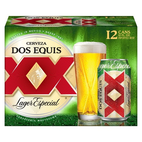 Dos Equis Lager Especial Beer 12pk 12 Fl Oz Cans Target