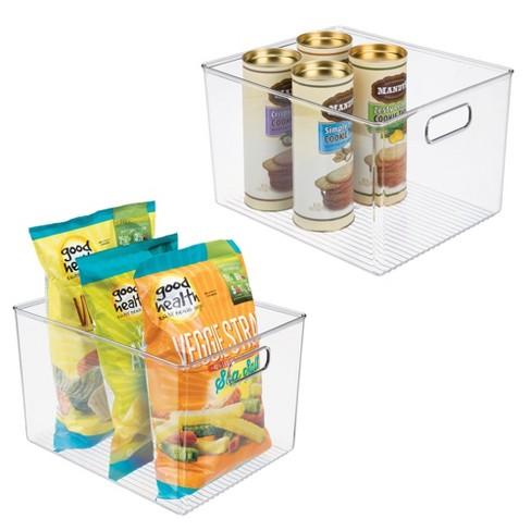 """mDesign Plastic Kitchen Food Storage Organizer Bin, 10"""" Wide - image 1 of 4"""
