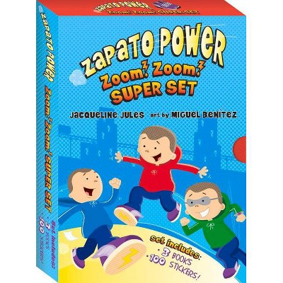 Zapato Power Boxed Set #1-3 - by  Jacqueline Jules (Paperback)