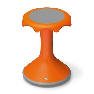 "VS America Hokki Stool Flexible Ergonomic Seating - 18"" Orange"