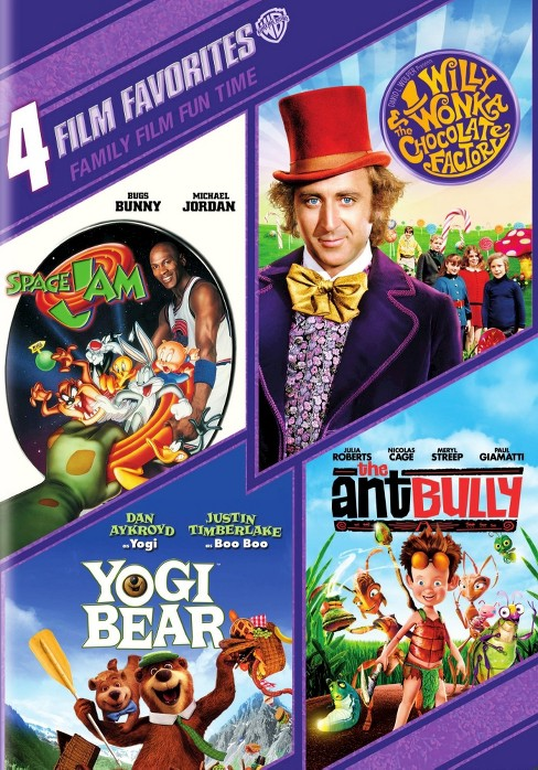 4 film favorites:Family film fun time (DVD) - image 1 of 1
