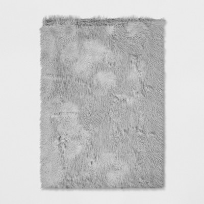 Solid Faux Fur Area Rug - Project 62™