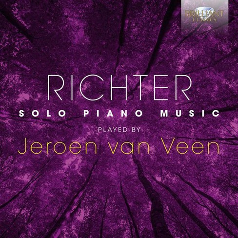 Jeroen Van Veen - Richter:Solo Piano Music Played By Je (CD) - image 1 of 1