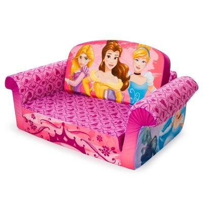 marshmallow furniture children s 2 in 1 flip open foam sofa disney rh target com disney princess flip open sofa bed marshmallow furniture flip open sofa disney princess