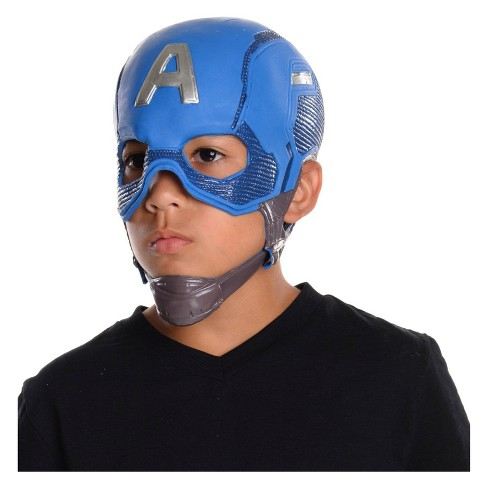 3ee4baf27cd Marvel Kid s Captain America Full Halloween Costume Mask   Target