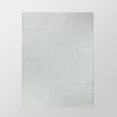 5' x 7' Diamond Outdoor Rug Navy - Threshold™