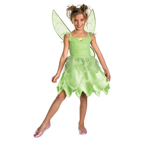 Tinkerbell Tink and the Fairy Rescue Girls' Costume - Medium(8-10) - image 1 of 1