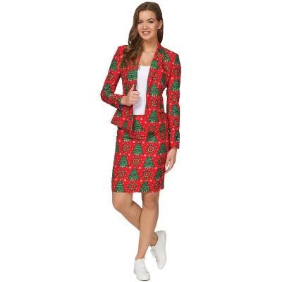 Adult Women Christmas Trees Halloween Costume M