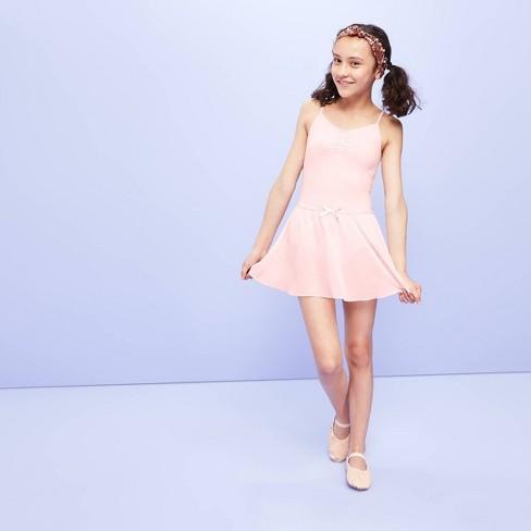 Girls' Dancewear Skirt - More than Magic™ Pink - image 1 of 3
