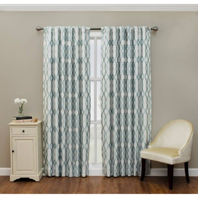 Dixon Thermalayer Blackout Window Curtain Panel Blue - Eclipse