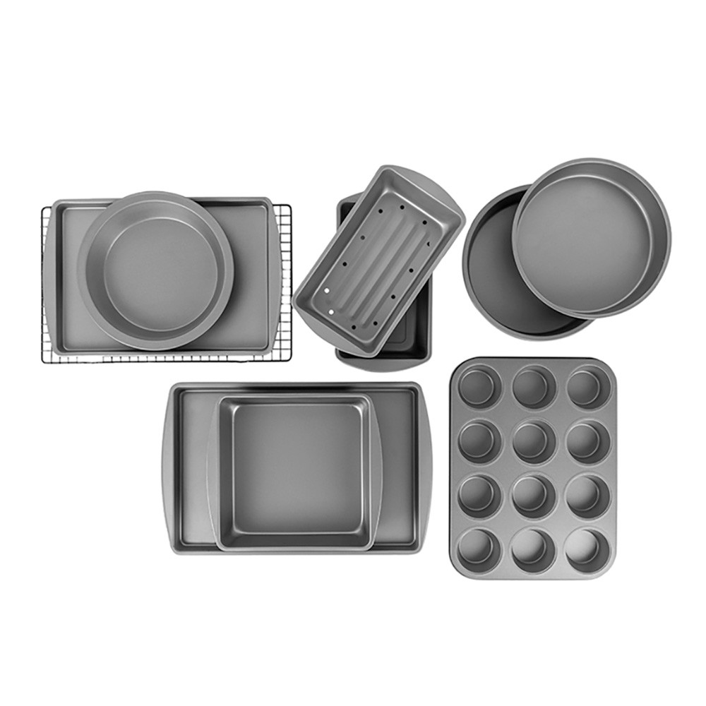 Image of BakerEze Nonstick 10 Piece Baker's Basics Set