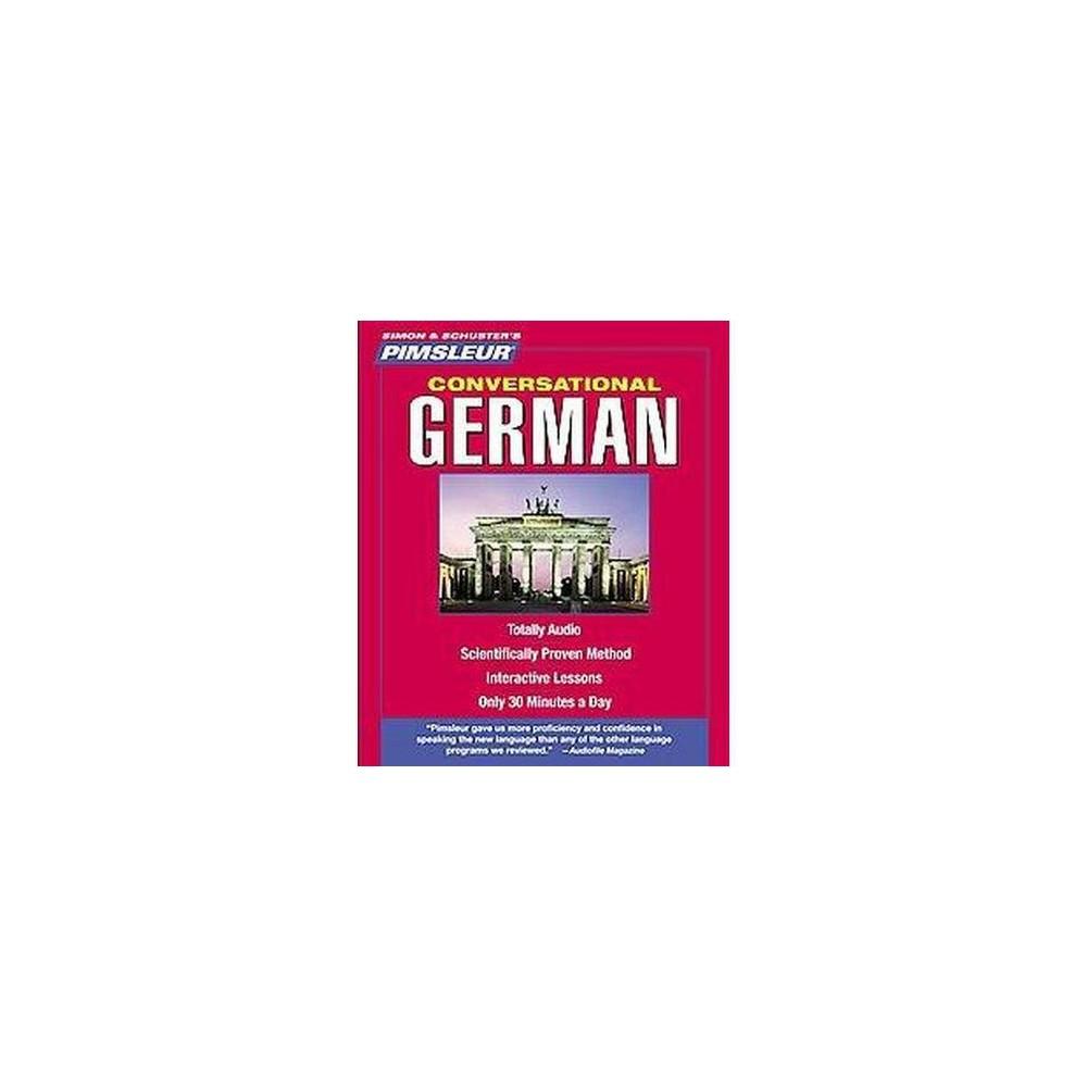 Pimsleur Conversational German (CD/Spoken Word)