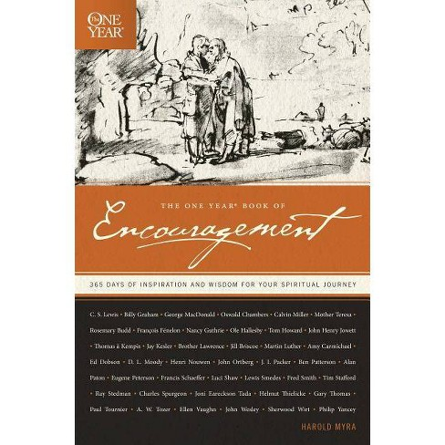 The One Year Book of Encouragement - by  Harold Myra (Paperback) - image 1 of 1