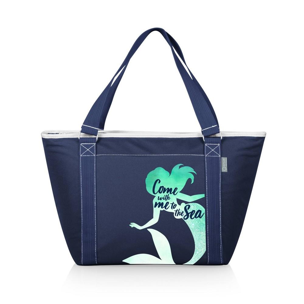 Picnic Time Disney Little Mermaid Topanga Tote Cooler Bag Navy Blue