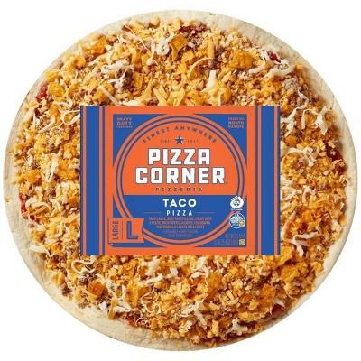 Pizza Corner Taco Frozen Pizza - 31.5oz