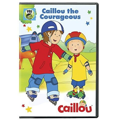 Caillou:Caillou The Courageous (DVD) - image 1 of 1