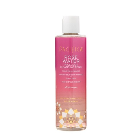 Pacifica Rose Water Micellar Cleansing Tonic - 8 fl oz - image 1 of 4