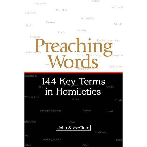 Preaching Words - by  John S McClure (Paperback) - image 1 of 1