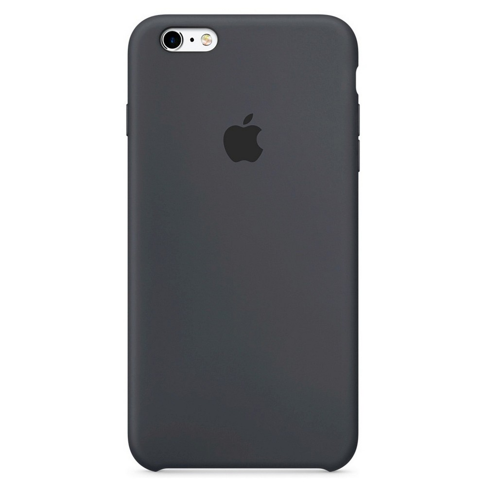 Apple iPhone 6 Plus/6 Plus Silicone Case - Charcoal Gray, Space Gray