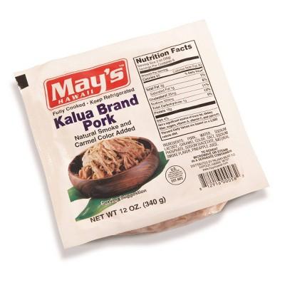 May's Hawaii Kalua Brand Pork - 12oz