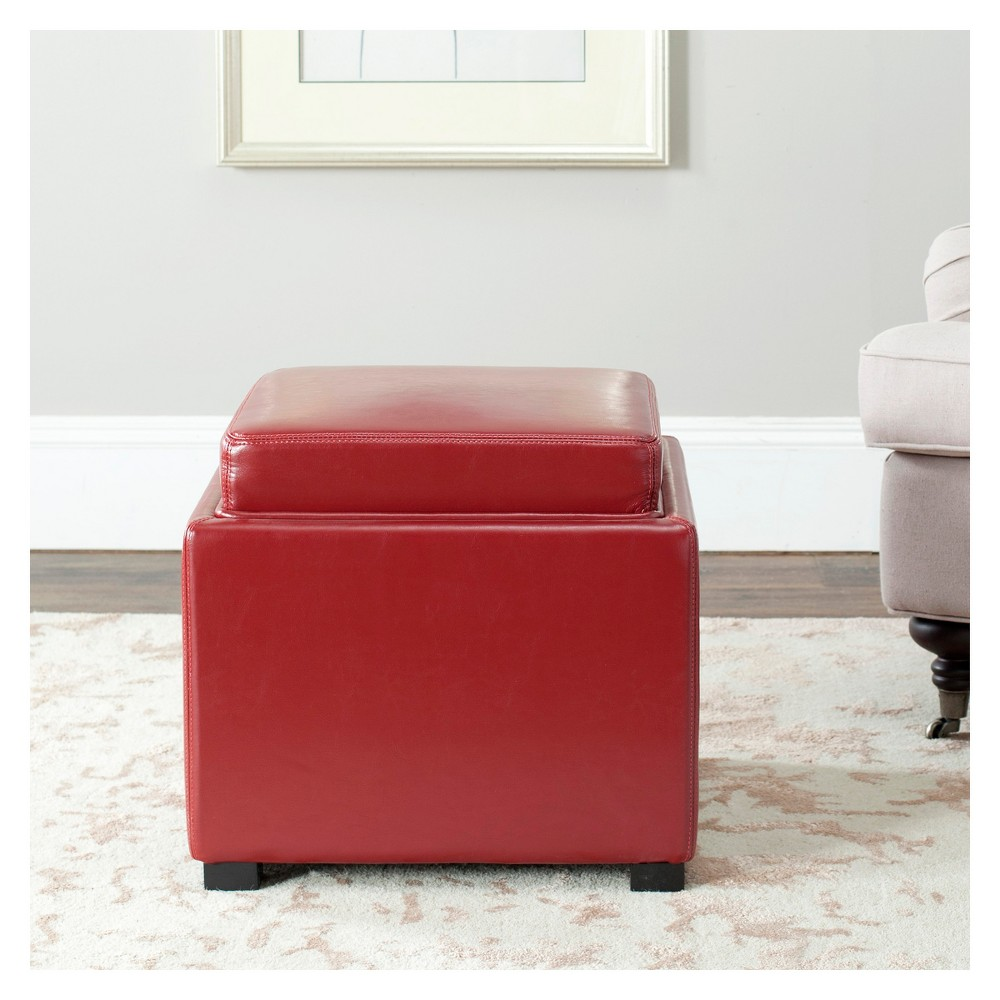 Storage Ottomans Red - Safavieh