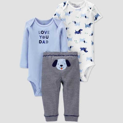 Baby Boys' Dog Top & Bottom Set - Just One You® made by carter's Blue Newborn