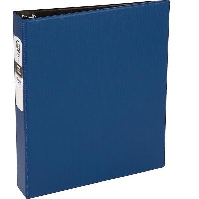 "Avery Economy Binder 1-1/2"" Round 3-Ring Non-View Blue (03400) 138719"