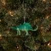 Glitter Dinosaur Christmas Tree Ornament Green - Wondershop™ - image 2 of 2