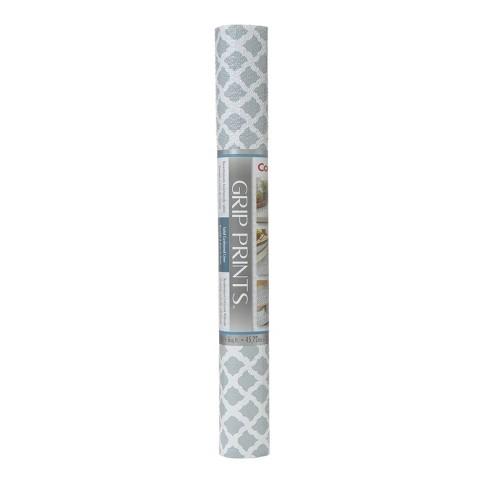 Con-Tact Brand Grip Prints Non-Adhesive Shelf Liner- Talisman Glacier Gray (18''x 4') - image 1 of 3