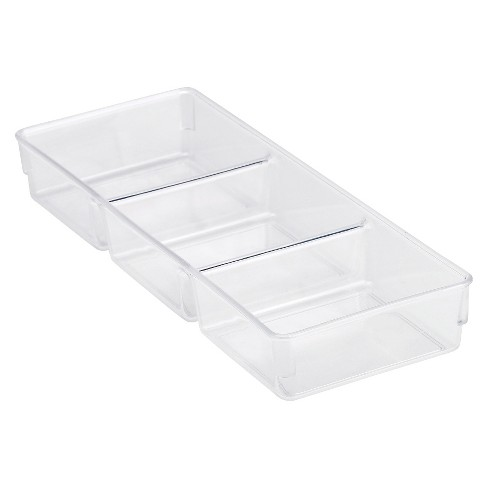 3 Compartment Drawer Organizer Tray - Room Essentials™ - image 1 of 1