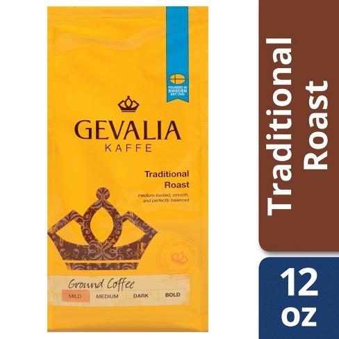Gevalia Traditional Mild Light Roast Ground Coffee - 12oz - image 1 of 4