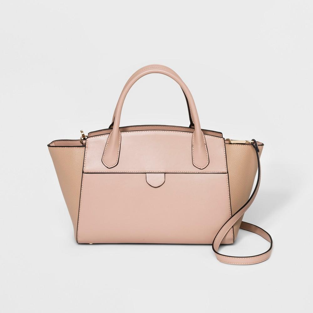 Winged Satchel Handbag- A New Day Blush, Women's