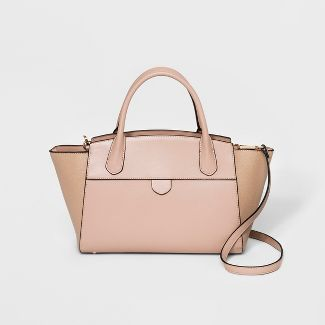 Winged Satchel Handbag- A New Day™ Blush
