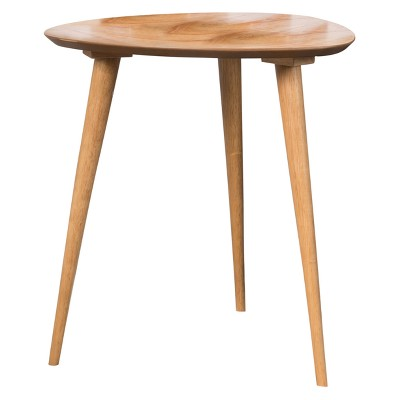Naja End Table - Wood - Natural - Christopher Knight Home