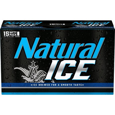 Natural Ice Beer - 15pk/12 fl oz Cans