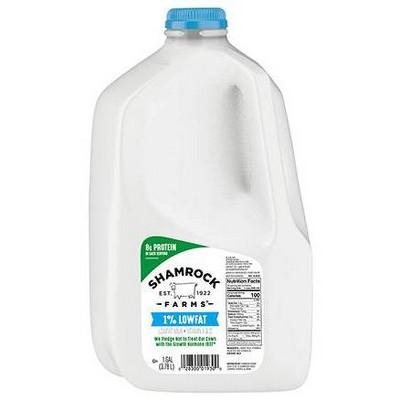 Shamrock Farms 1% Milk - 1gal