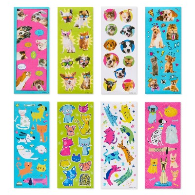 488ct Cats and Dogs Stickers